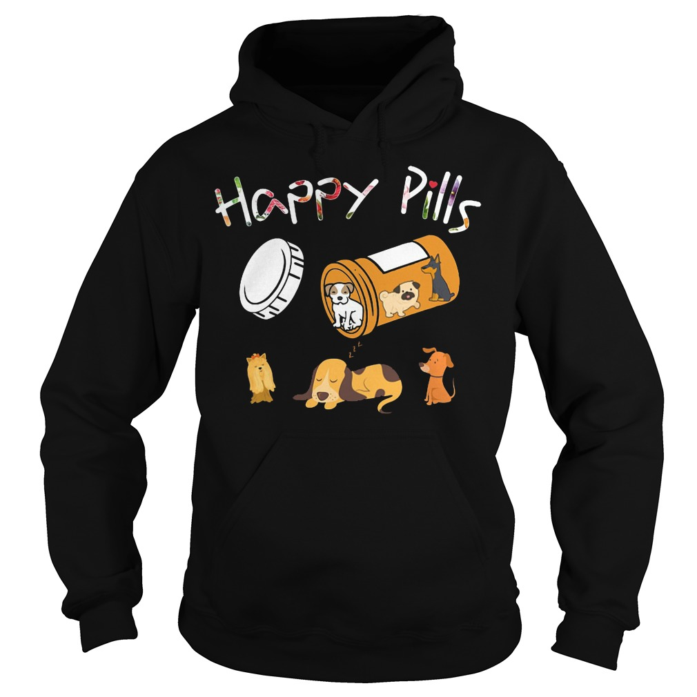 Happy pills dog hoodie