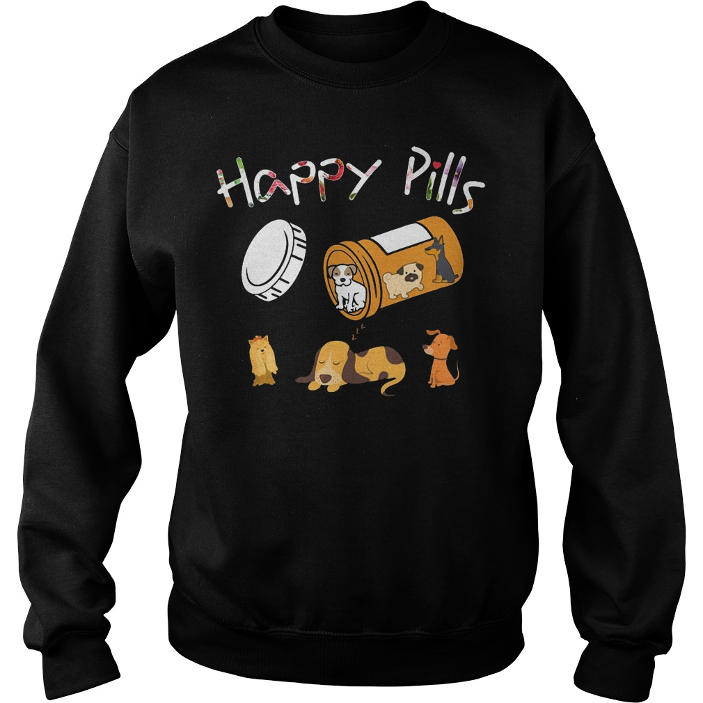 Happy pills dog sweater