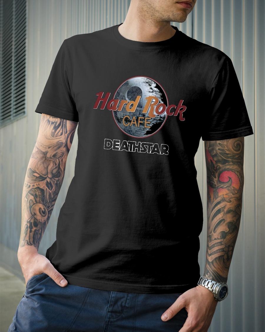 Hard Rock cafe Death Star shirt