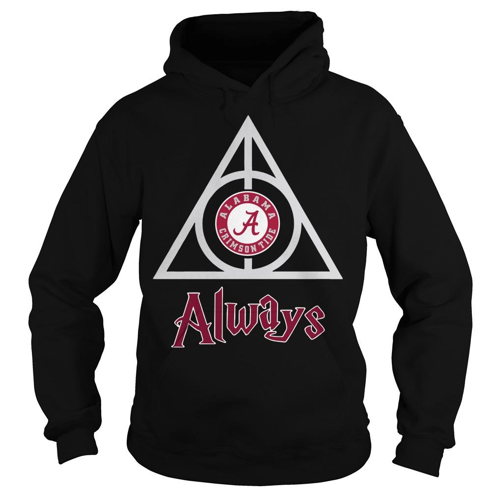 Hogwarts Always Alabama Crimson Tide hoodie