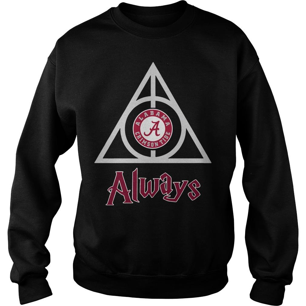 Hogwarts Always Alabama Crimson Tide sweater