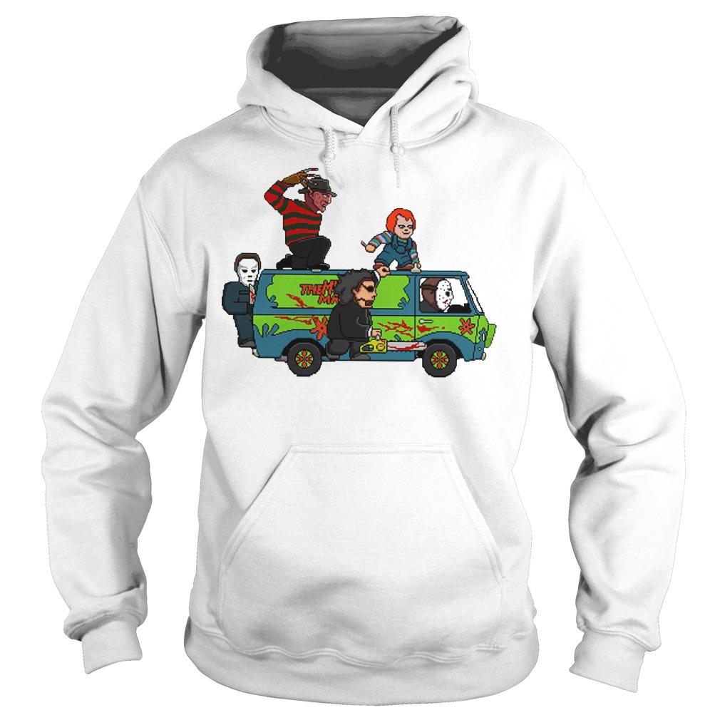 The Massacre Machine Horror Scooby Doo hoodie