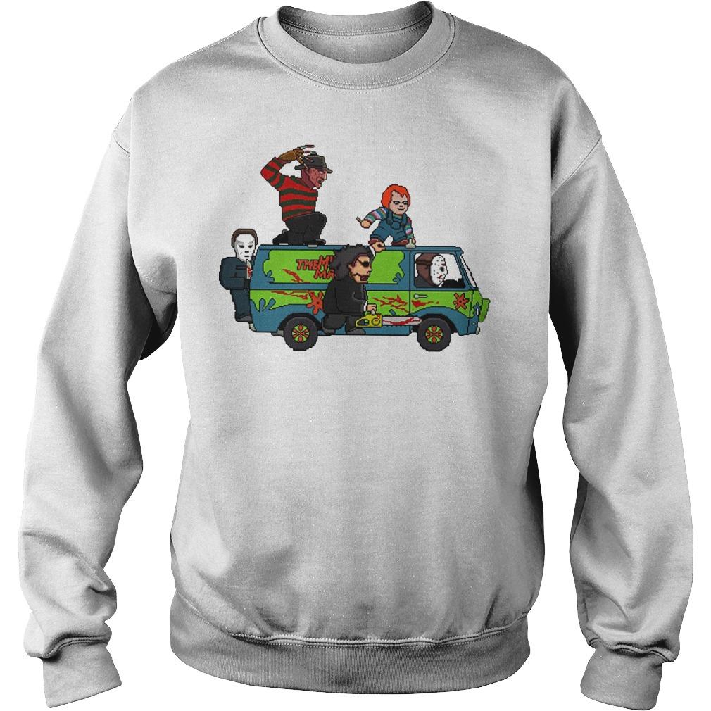 The Massacre Machine Horror Scooby Doo sweater