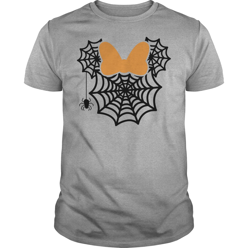 Mickey spider web shirt