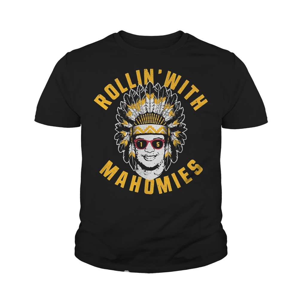 Rollin' with mahomies youth tee