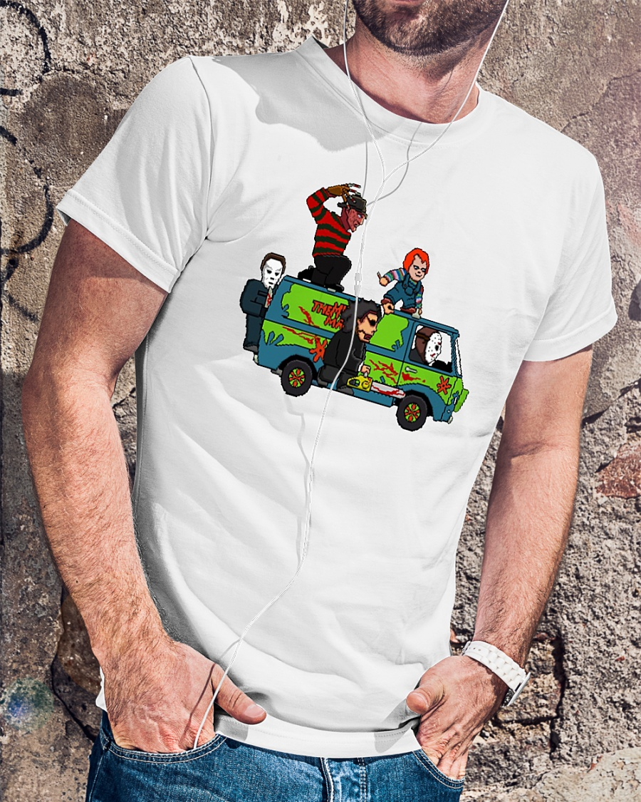 The Massacre Machine Horror Scooby Doo shirt
