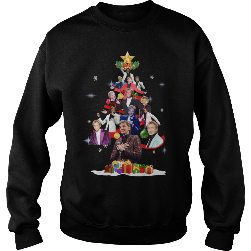 Barry Manilow Christmas Tree Ugly Sweater
