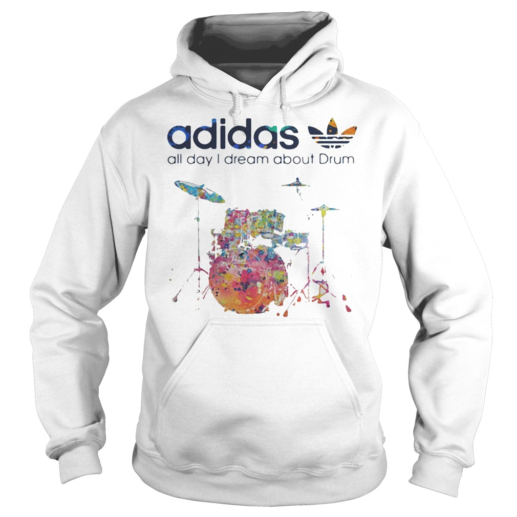 Adidas all day I dream about Drum hoodie