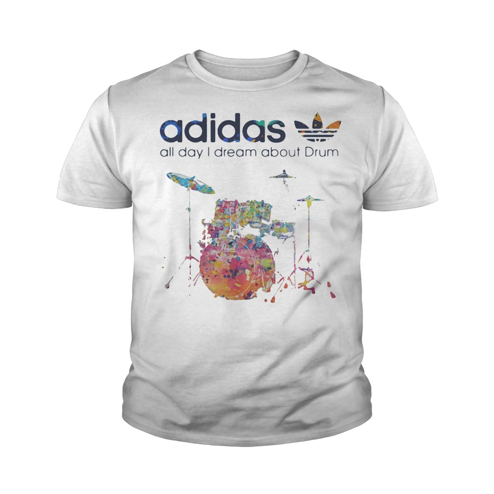 Adidas all day I dream about Drum youth tee