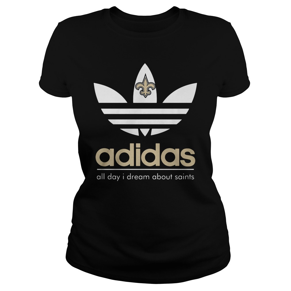 Adidas Orleans Saints ladies tee