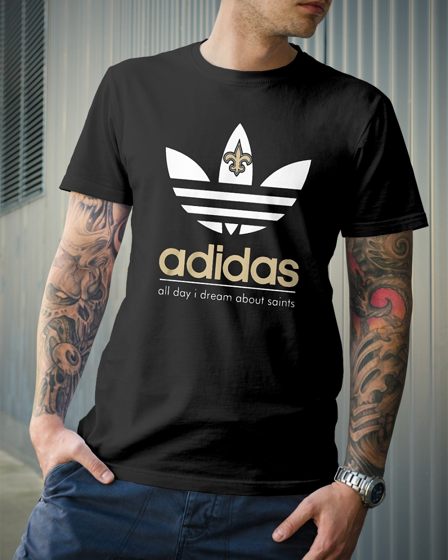 Adidas Orleans Saints shirt