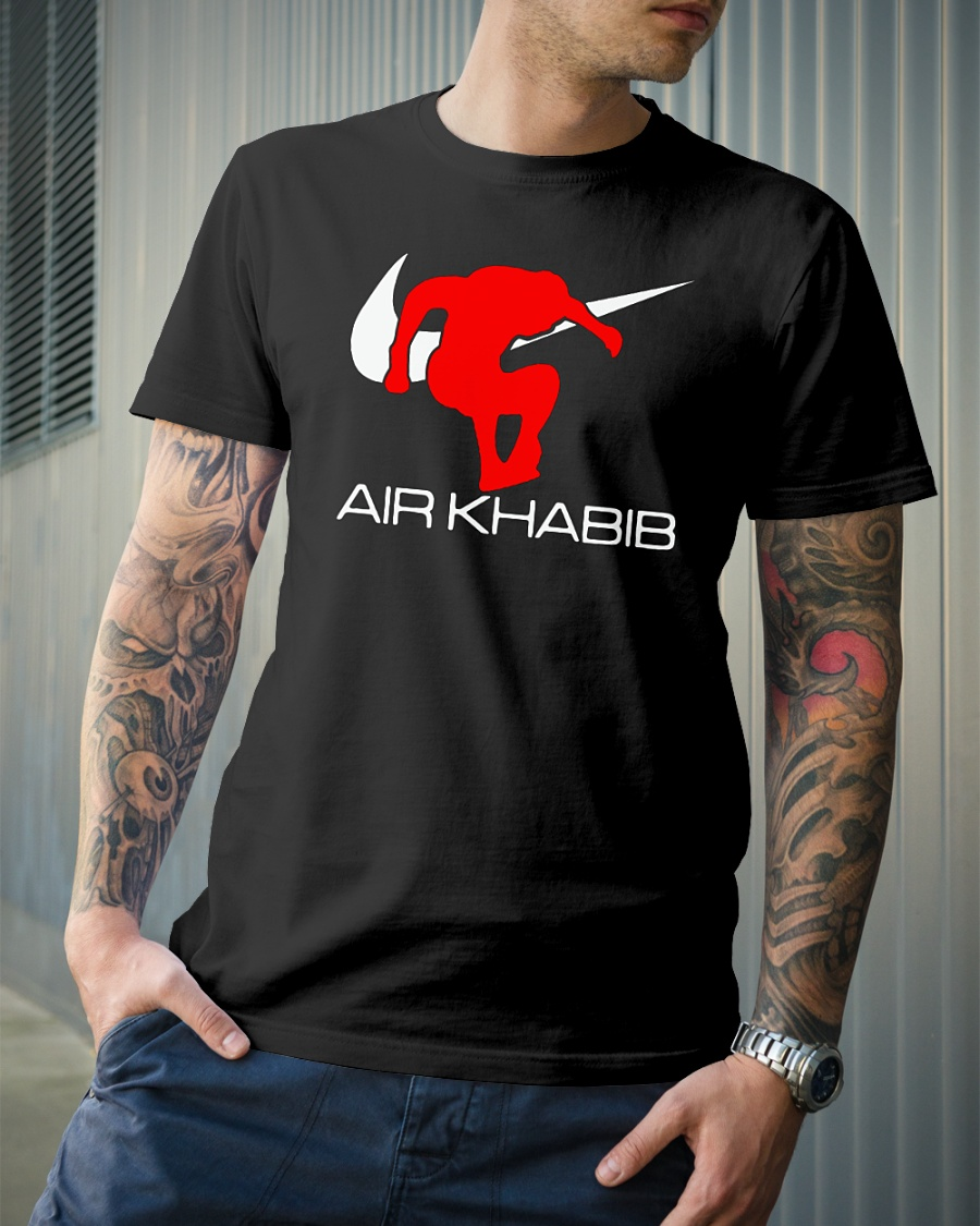 Air Khabib Nike shirt