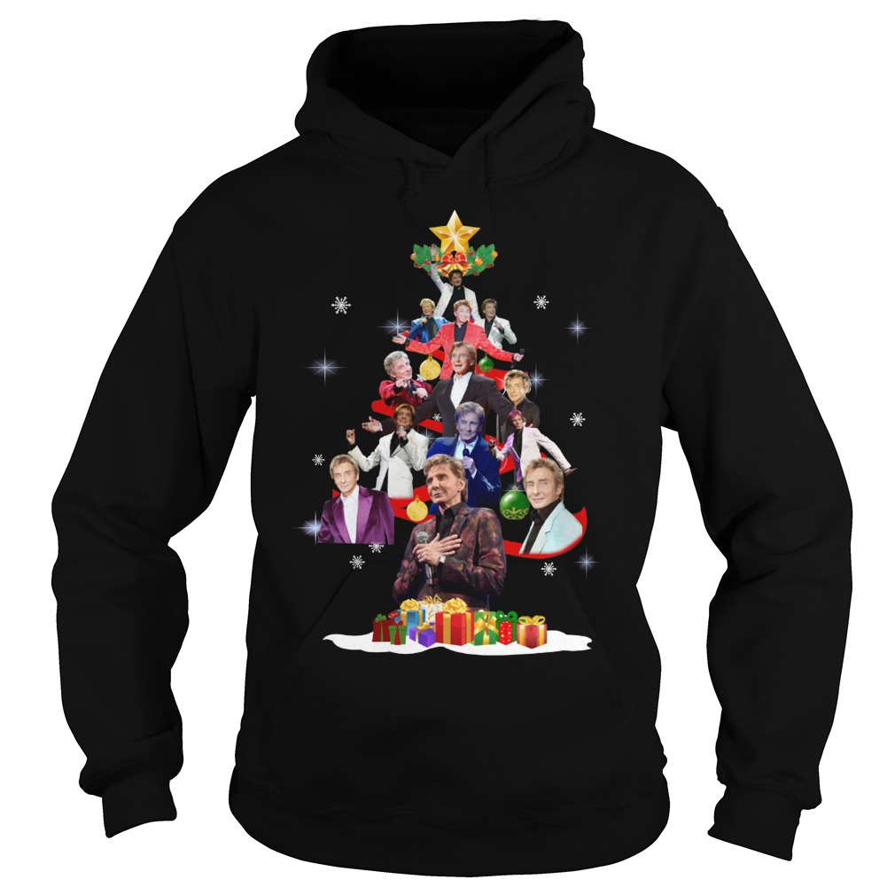 Barry Manilow Christmas Tree hoodie