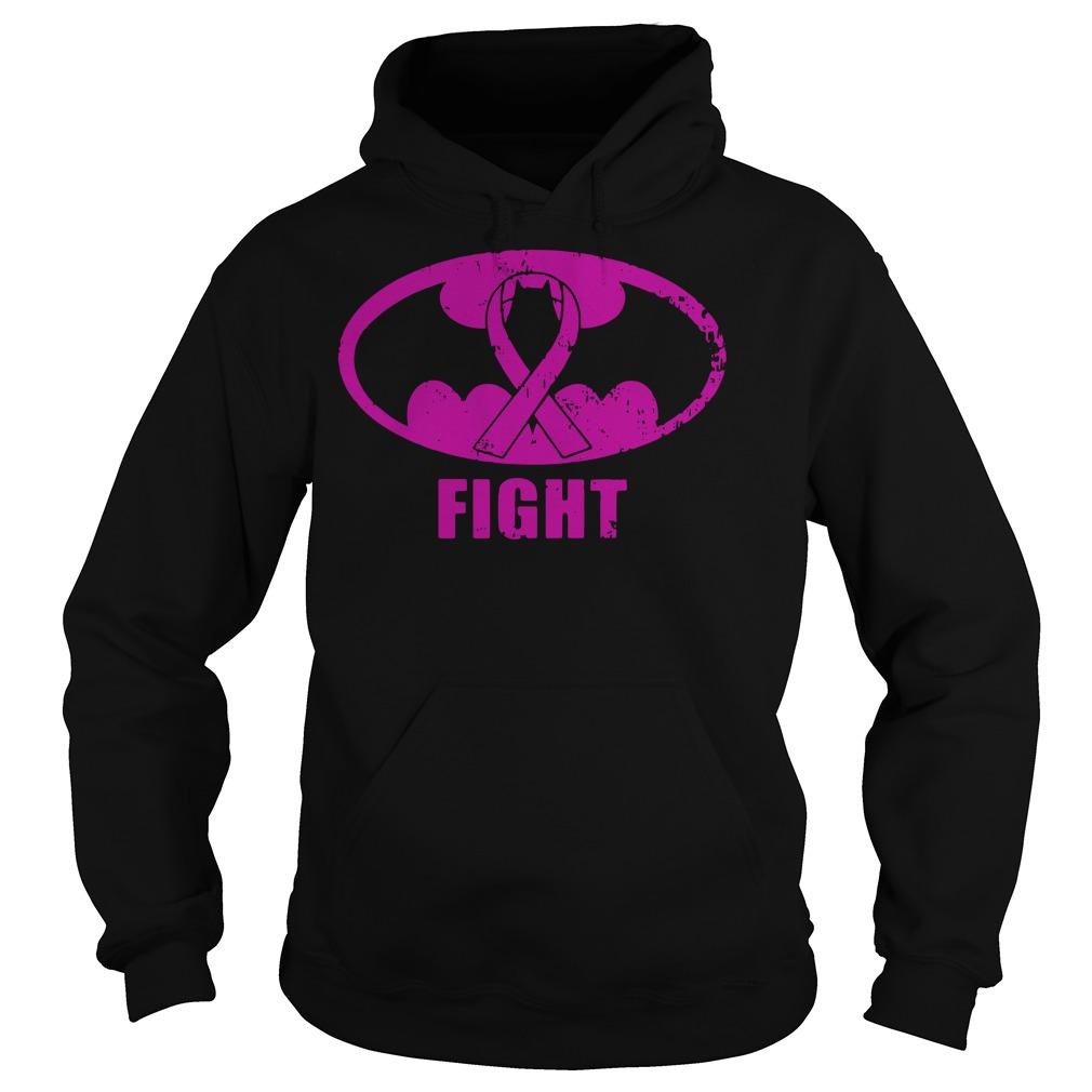 Batman Breast Cancer fight hoodie