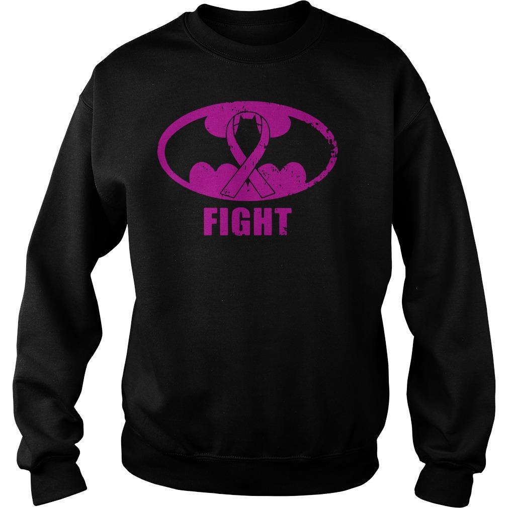 Batman Breast Cancer fight sweater