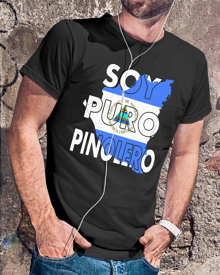 Camiseta Nicaragua Soy Puro Pinolero Nicaraguense shirt