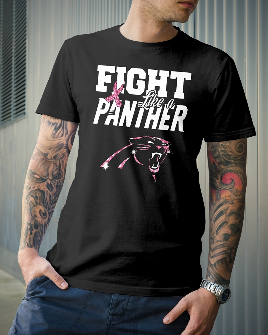new concept a88bb c9886 Official Carolina Panthers: Fight like a panther Breast ...