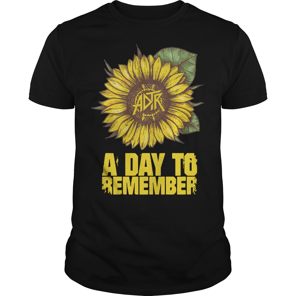 A day to remember sunflower Guys t-shirt
