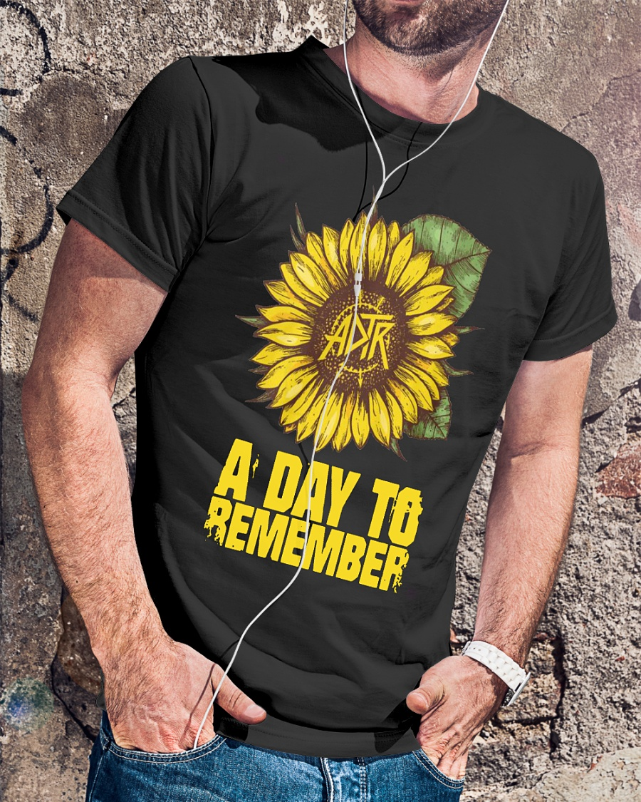 A day to remember sunflower shirt