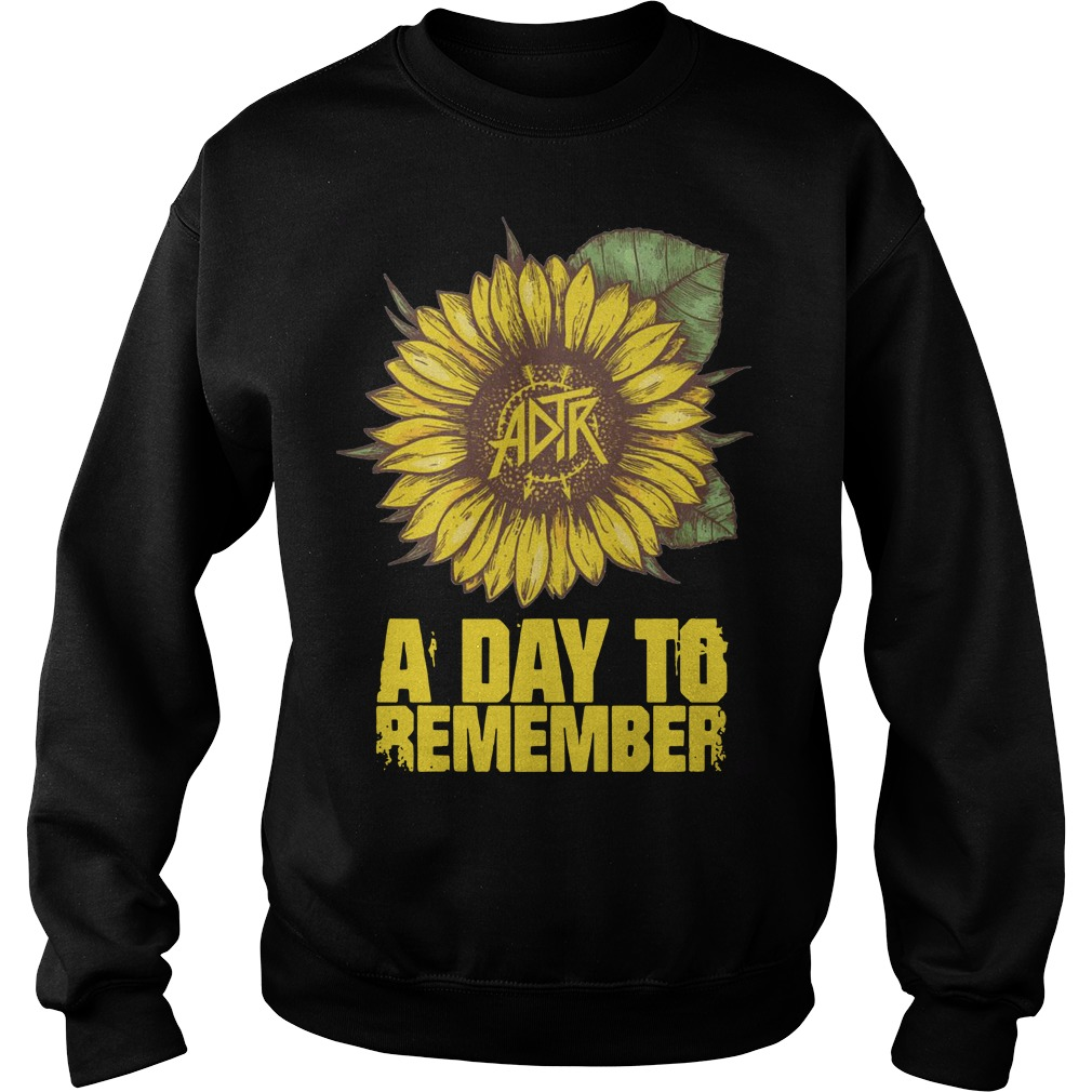 A day to remember sunflower Sweater
