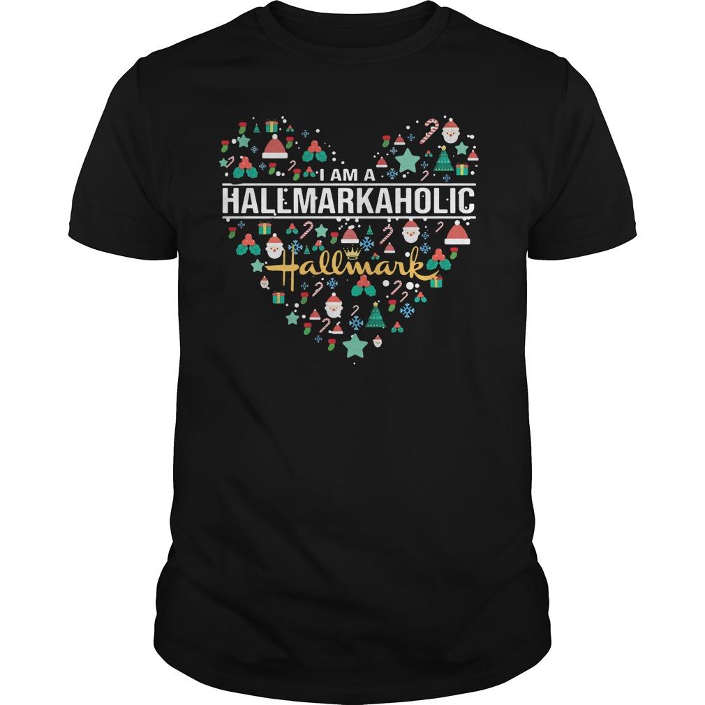 I am a hallmark aholic shirt