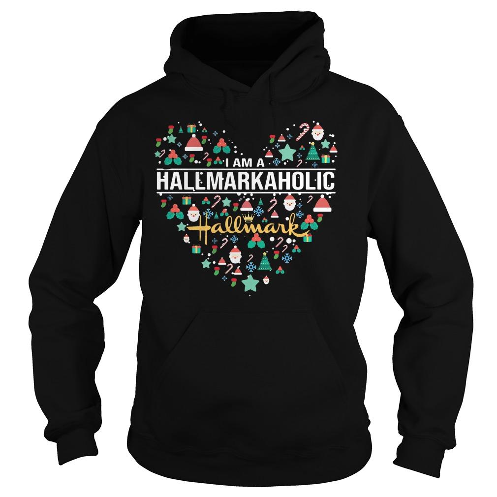 I am a hallmark aholic Hoodie