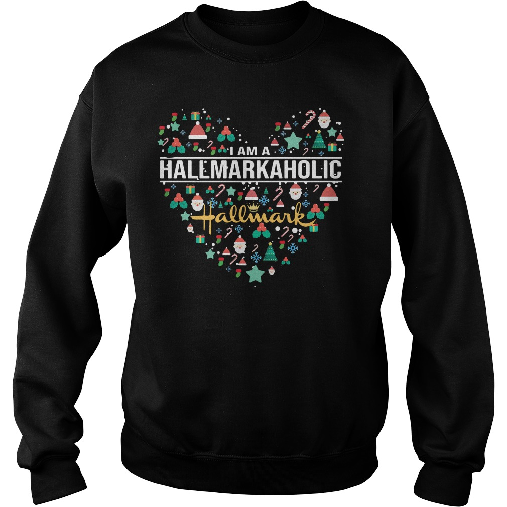 I am a hallmark aholic Sweater