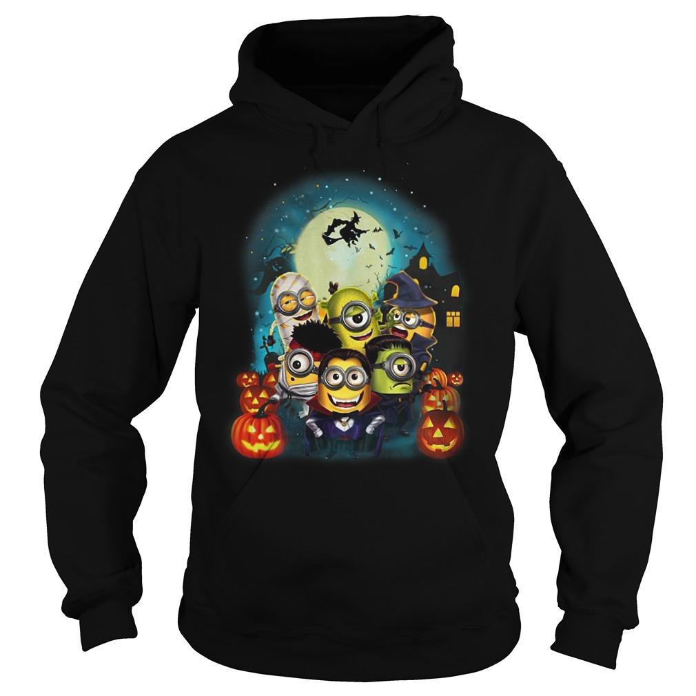 Happy Halloween Minions hoodie