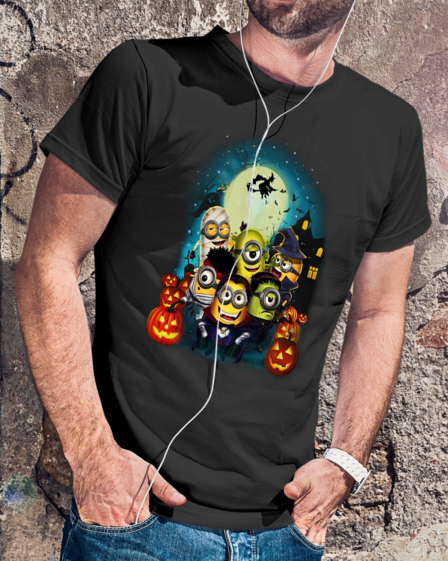 Happy Halloween Minions shirt