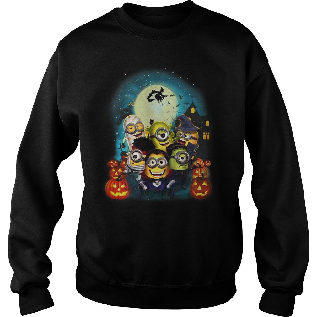 Happy Halloween Minions sweater
