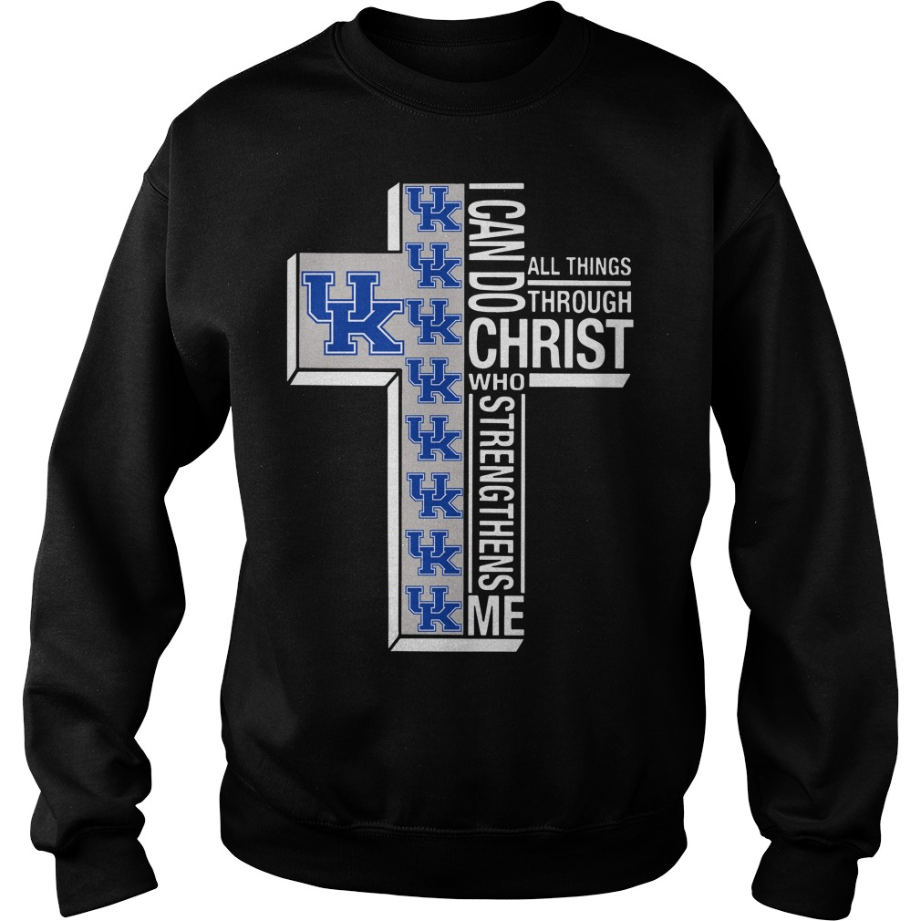 Kentucky Wildcats I can do christ all things through who strengthens me Sweater