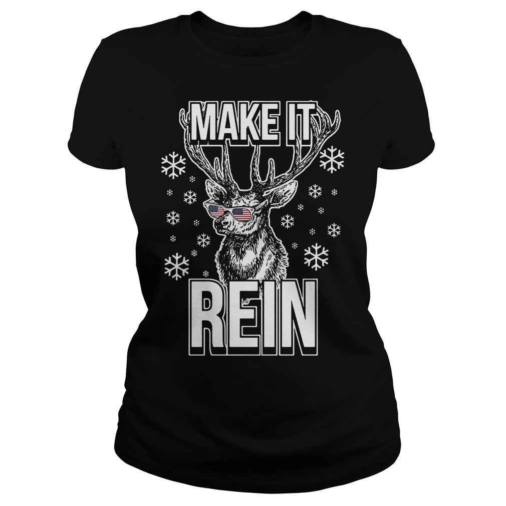 Make it rein ugly Christmas Ladies