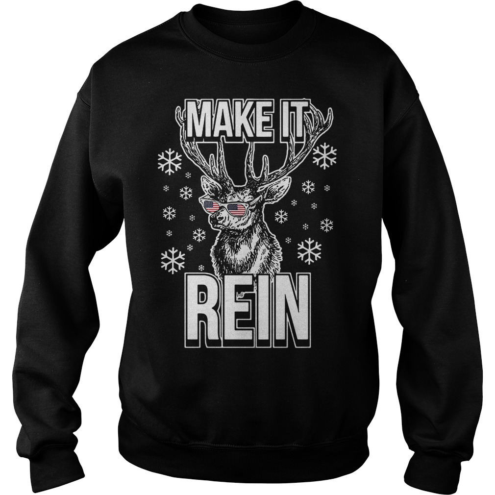 Make it rein ugly Christmas sweater