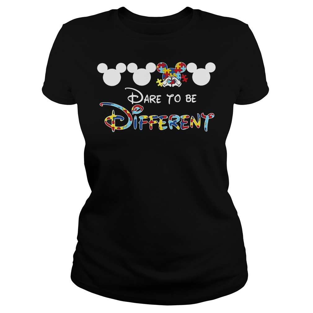 Mickey autism dare to be different Ladies