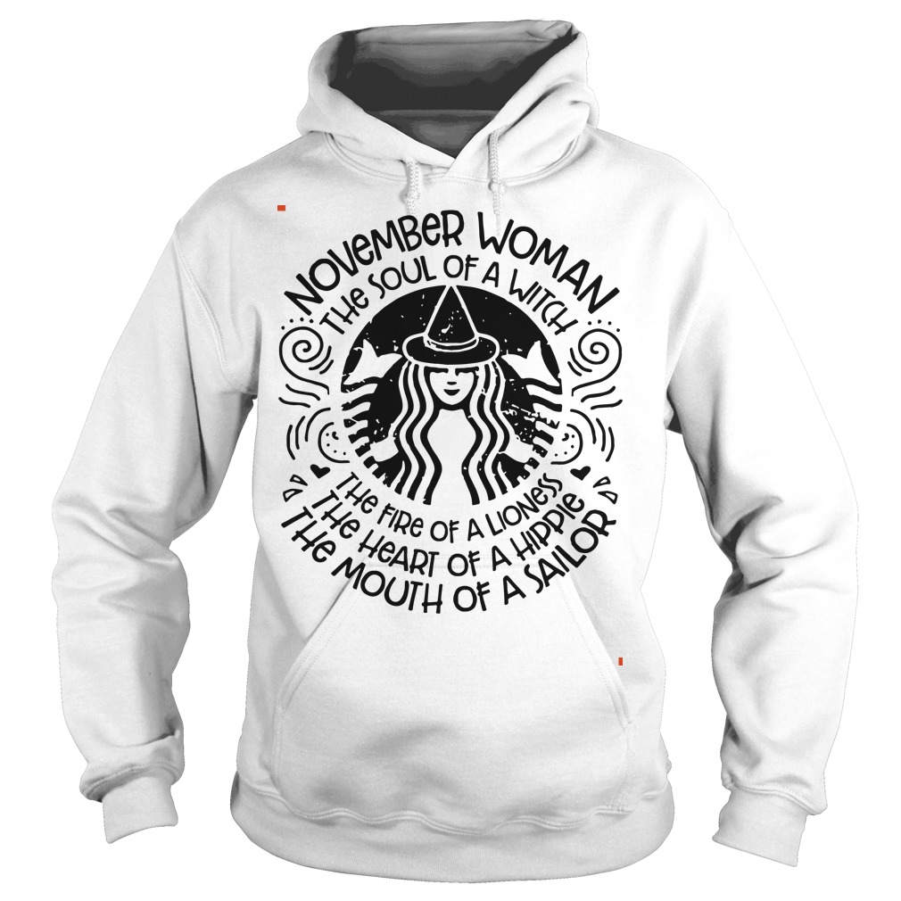 November woman the soul of a witch the fire of a lioness star bulk Hoodie