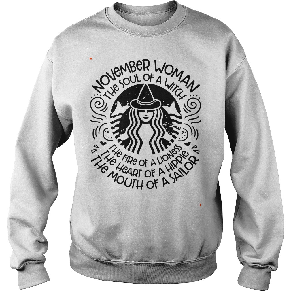 November woman the soul of a witch the fire of a lioness star bulk Sweater