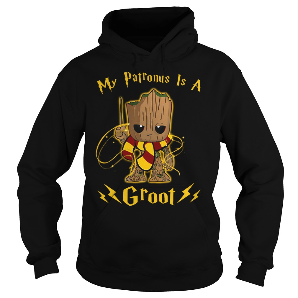 My Patronus is a Baby Groot Harry Potter Hoodie