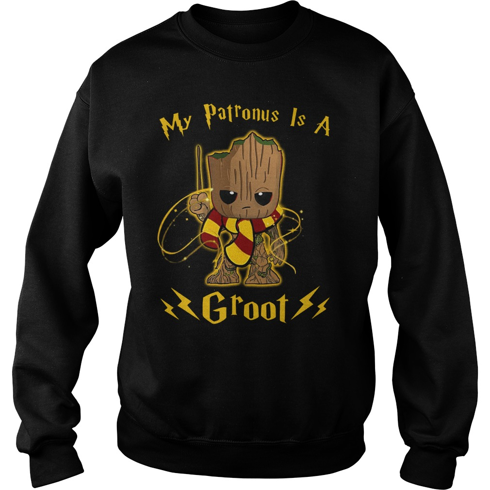 My Patronus is a Baby Groot Harry Potter Sweater