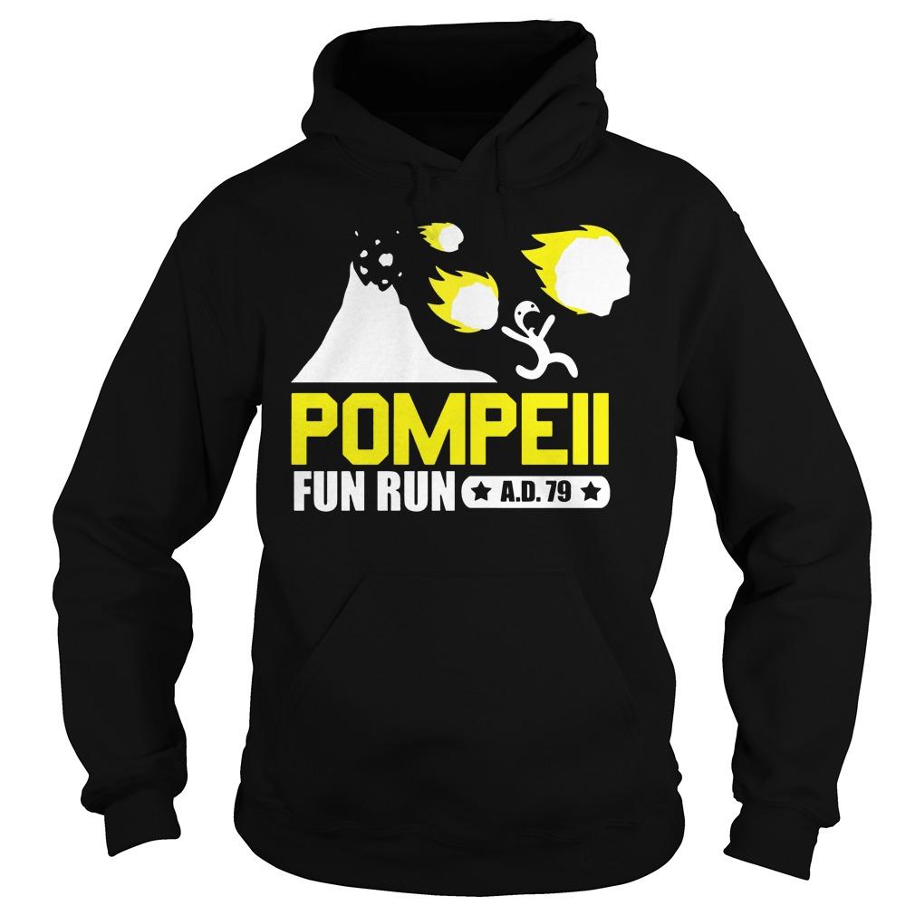 Pompeii fun run ad 79 Hoodie