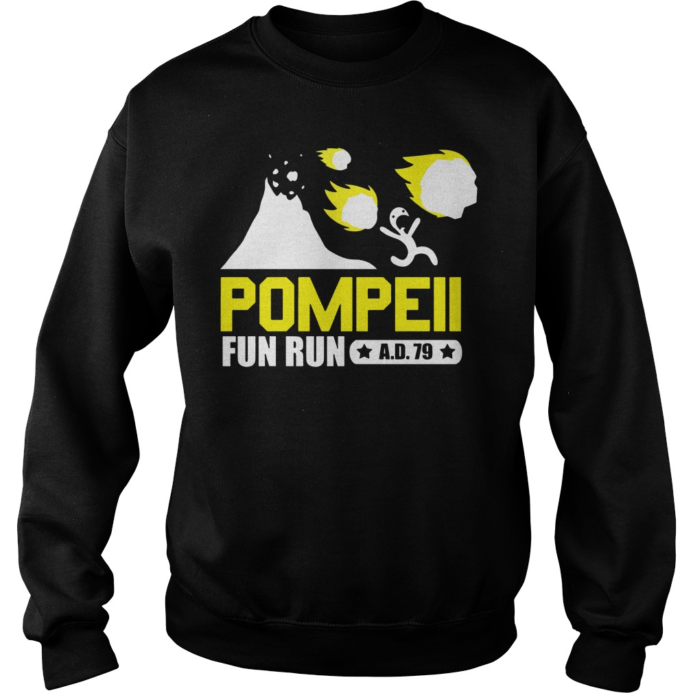 Pompeii fun run ad 79 Sweater