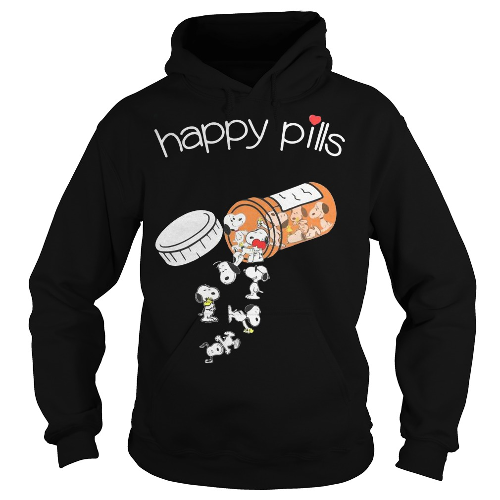 Snoopy happy pills Hoodie