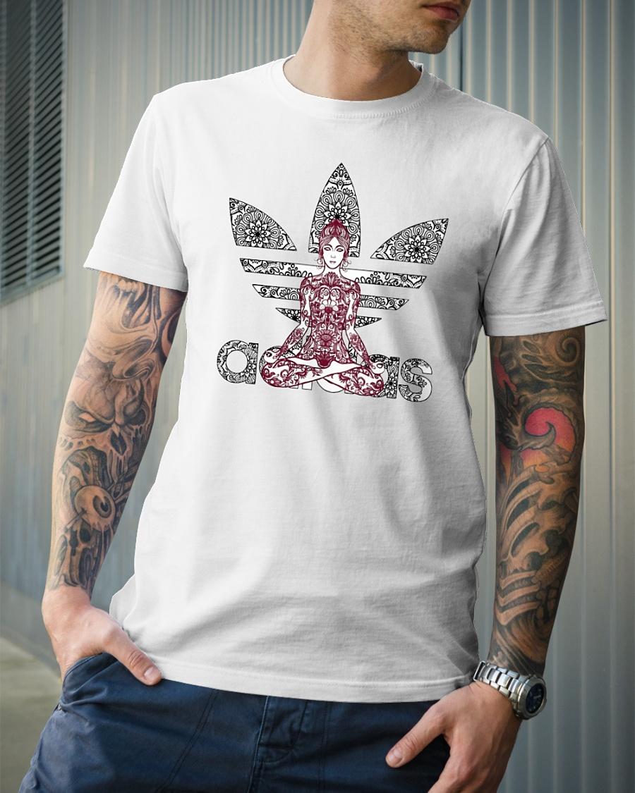 ADIDAS Yoga mandala shirt, hoodie, tank top, long sleeve and