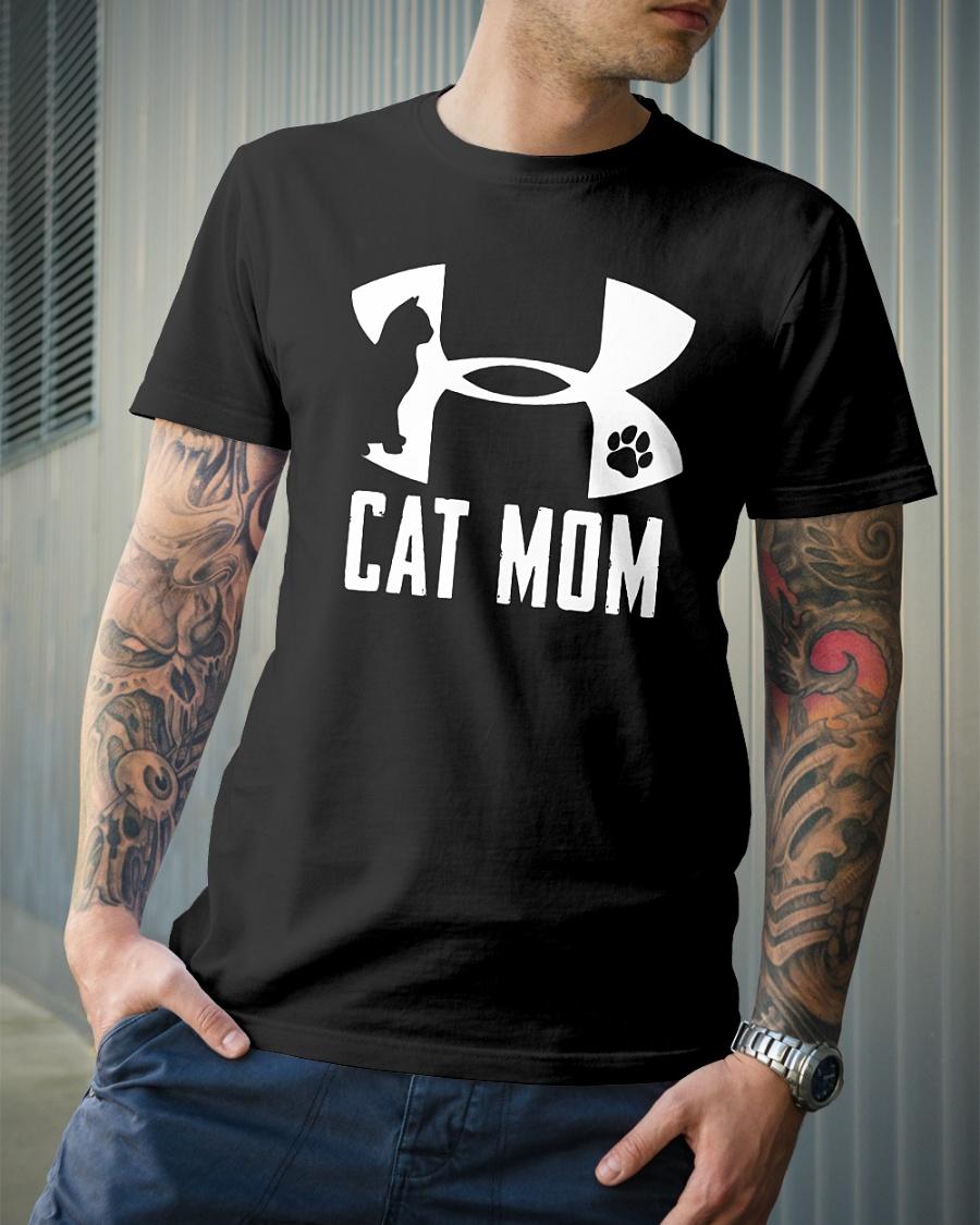 Under armour Cat mom shirt