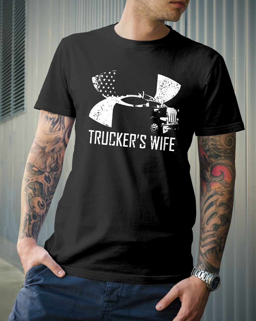 Under armour Trucker's wife shirt