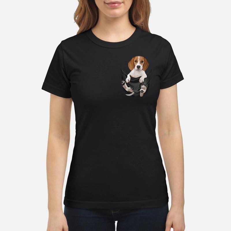 Beagle in pocket Ladies
