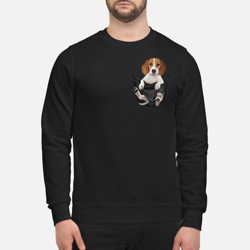 Beagle in pocket Sweater
