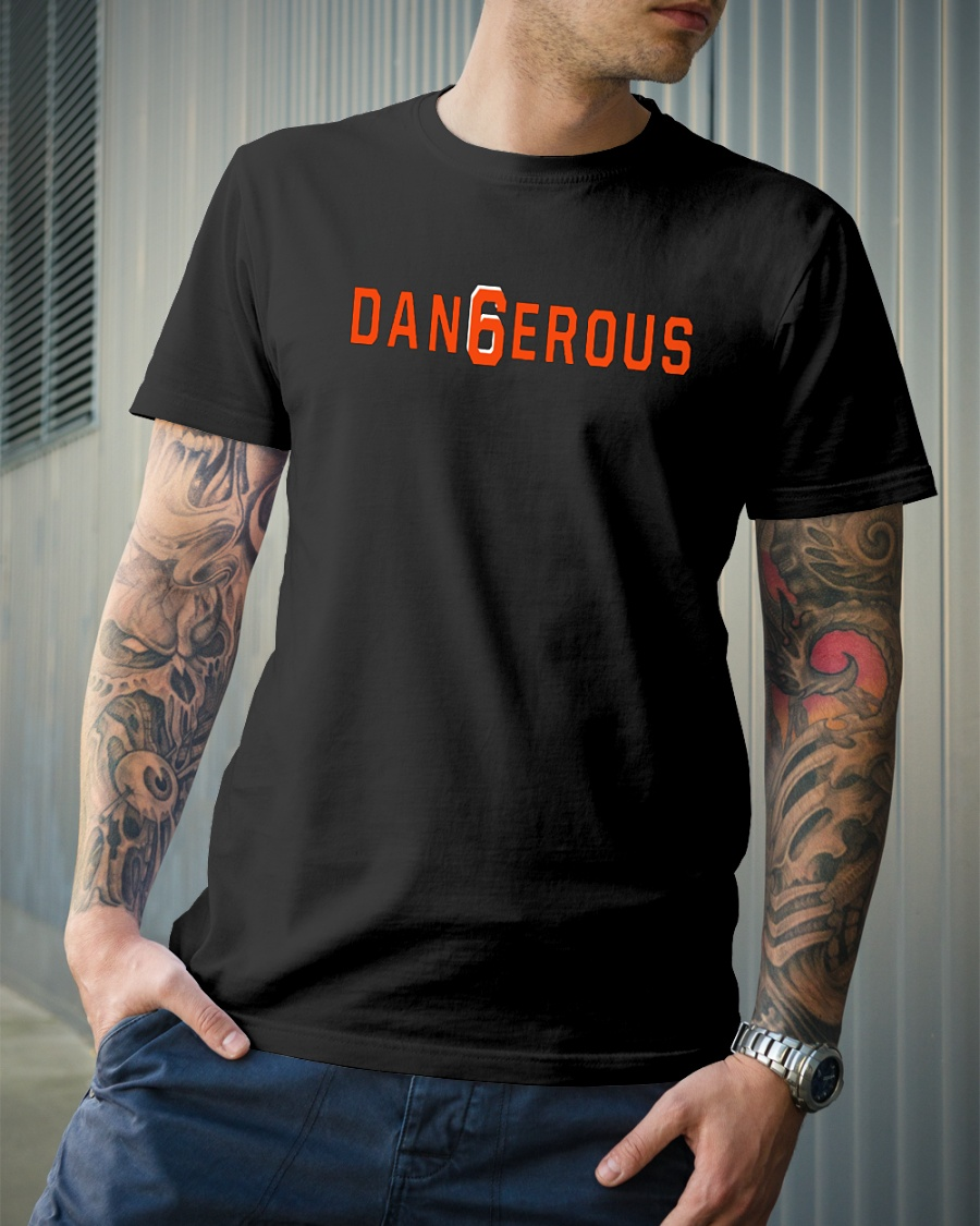Brown dangerous shirt