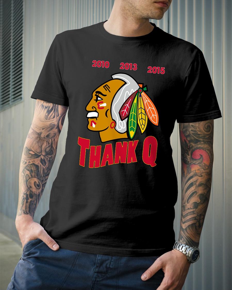Chicago Blackhawks Thank Q coach shirt