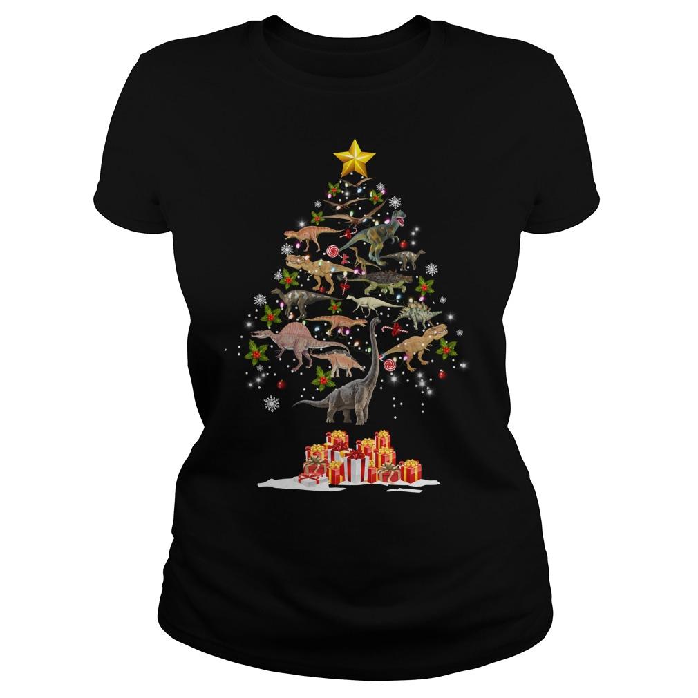 Dinosaur Christmas Tree Ladies