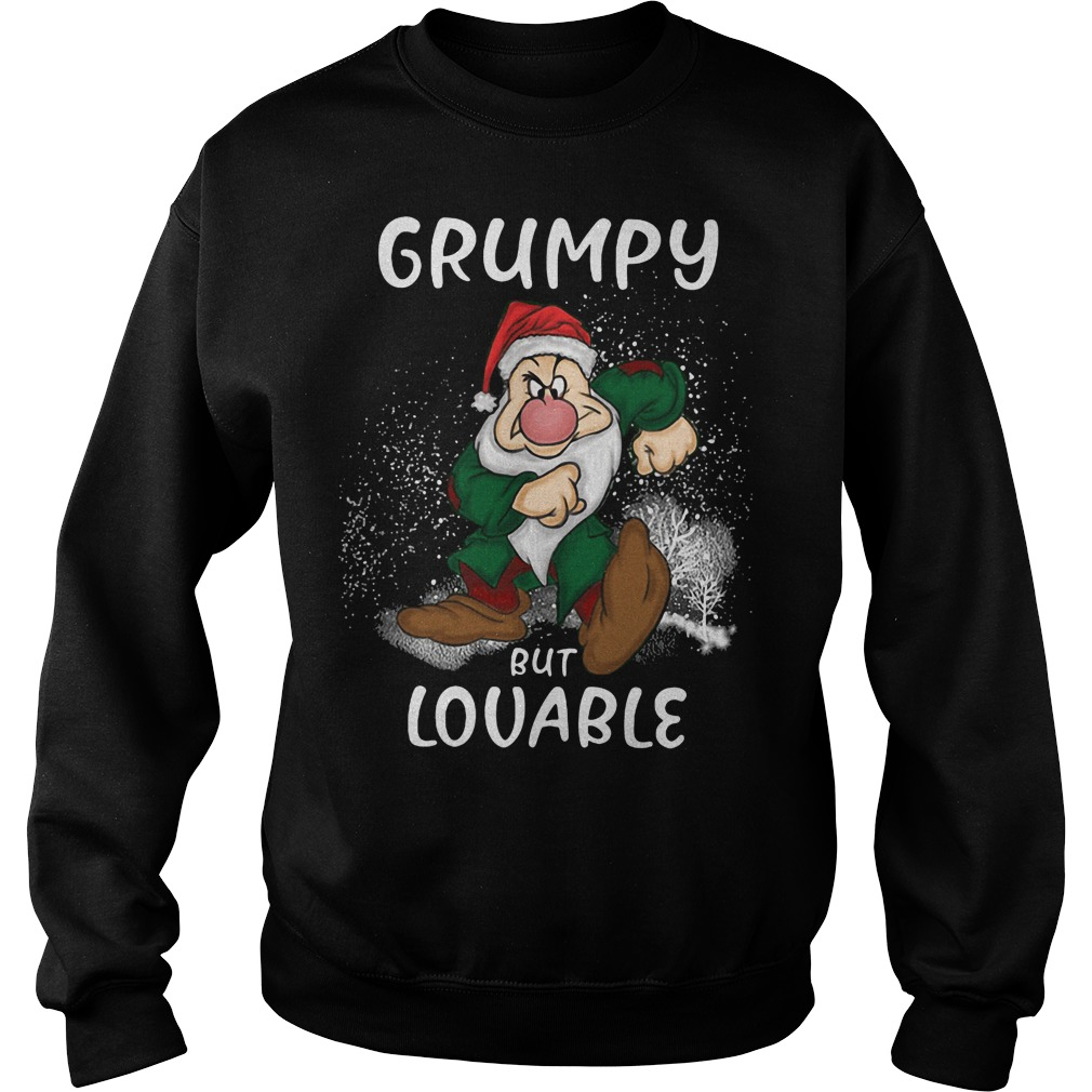 The Grinch: Grumpy but lovable ugly Christmas sweater